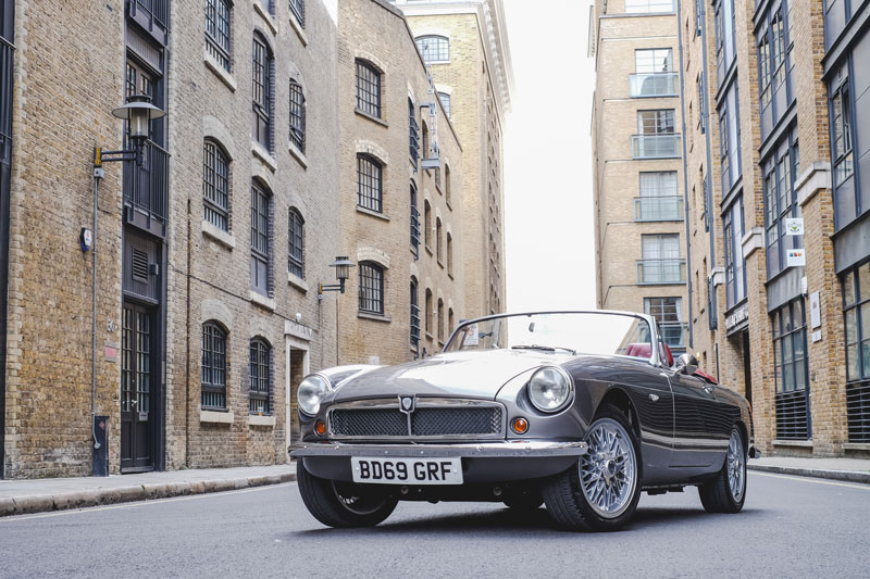 Electric MGB: RBW EV Roadster is the latest electric classic car?